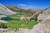 picture of mammoth  - Mammoth Mountain from Duck Pass near Mammoth Lakes CA - JPG