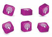 Three-dimensional Podcast Blocks