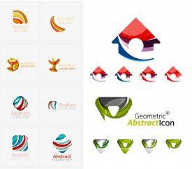 image of emblem  - Universal abstract geometric shapes  - JPG