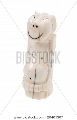 Walrus Bone Eskimo Idol