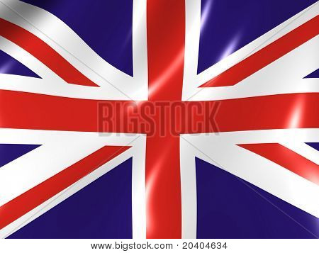 The Great Britain. National Flag