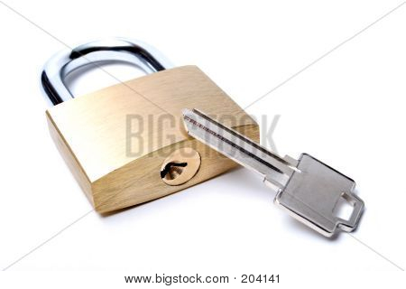 Lock With Uncut Key