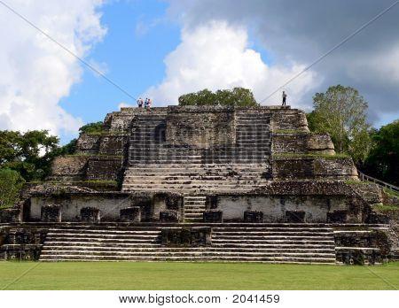 Altun Ha Maya Pyramid