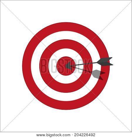 Target bullseye or