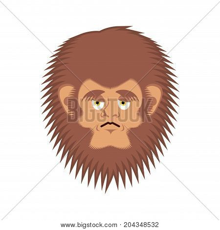 Bigfoot Sad Emoji Yeti Wailful