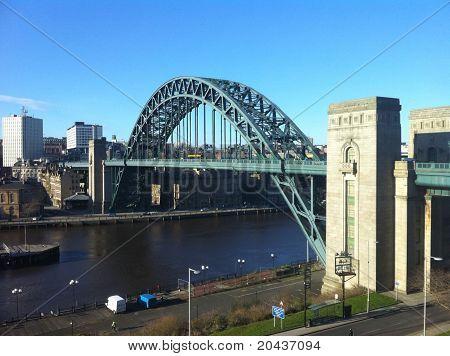 Tyne Bridge on a Sunny Day