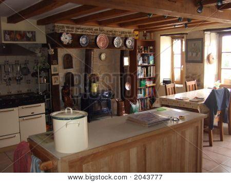 Inside Cottage Kitchen