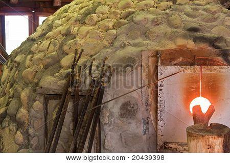 Glass-Making Kiln