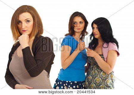 Envious Women Gossip