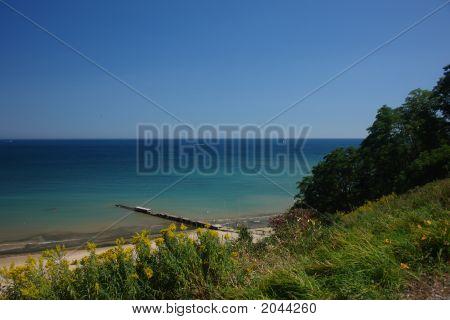 Lago Michigan partir para o alto