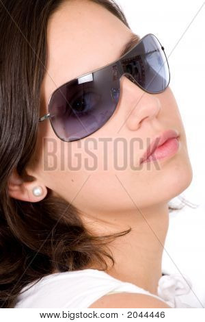 Fashion Woman Portrait - Sunglasses