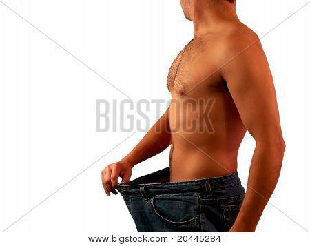 Isoliert-Gewicht-Verlust