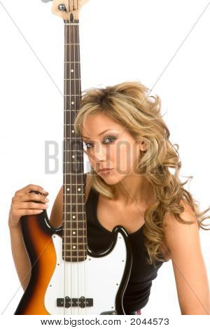 Portrait With  Bass
