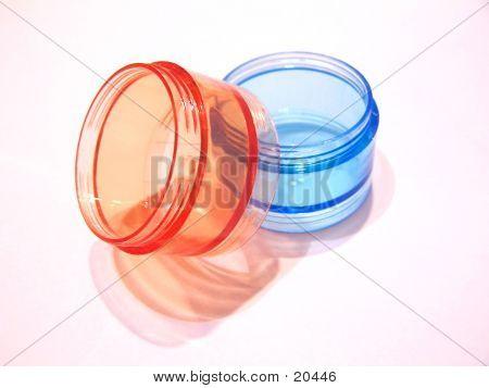 Dois transportadores de pílula