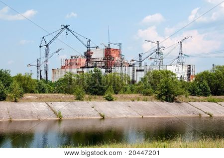 Chernobyl atomic power station