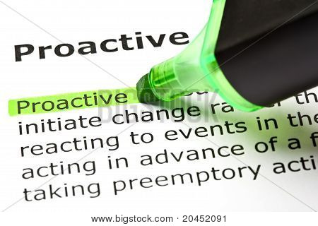 Proactive Definition