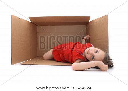 Girl In The Paper Box