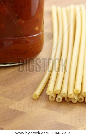 Delicious Fancy Pasta Ingredients