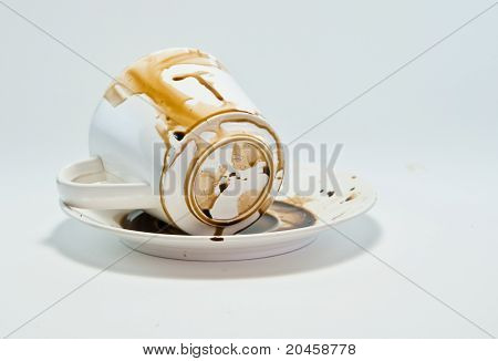 Coffee Cup Used.