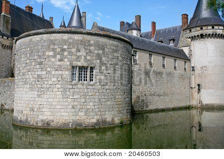Medieval Castle Sully-sur-loire, France