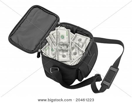 Black Bag Full Of Money.