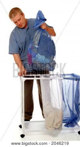Home Laundry Man