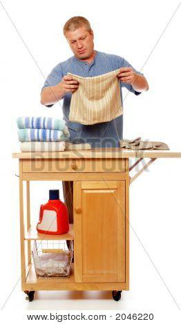Finishing Day'S Laundry