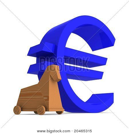 Trojan Horse Inside Euro Area