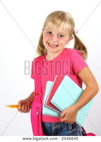 Schoolgirl Ready For School