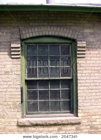 Old Window And Panes