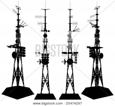Telecommunications Tower Vect...