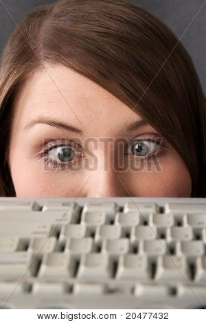 Female Technophobe