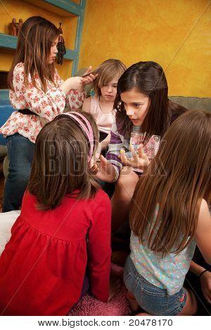 Busy Little Girls