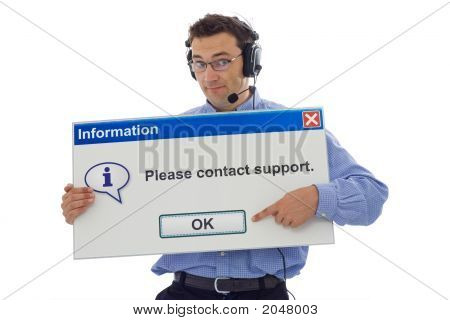 Friendly Support Personnel