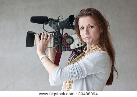Girl  Journalist