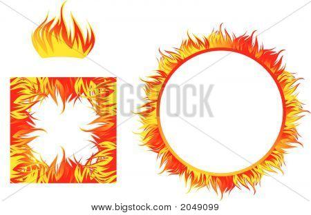 Fire Flame Frames