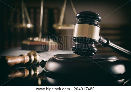 court gavel scale of justice law theme poster id 204917482