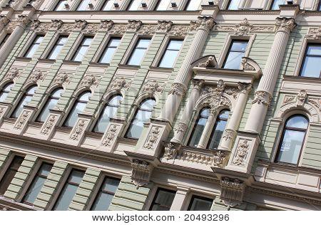 Ancient Building Facade