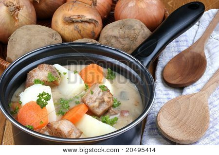 Irish Stew, A Specialty From Ireland