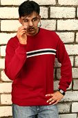 Indian Man Outdoor Fashion Style 3 poster