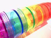 Rainbow Pill Caddies poster