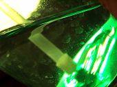 Inside Green Spray Bottle poster