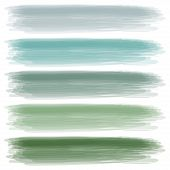 stock photo of paint brush  - Illustration of a set of colors in several shades - JPG