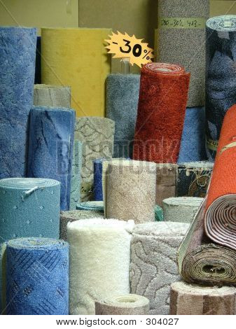 Rolls Of Carpets