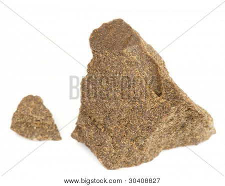 Substance looking exactly like hashish, isolated
