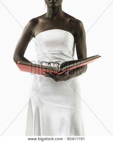 Young woman seeking knowledge