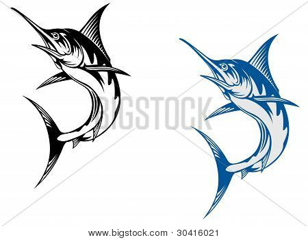Big Marlin Fish