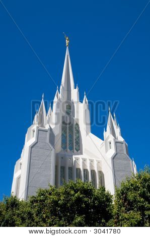 East Spire Of San Diego Lds Temple