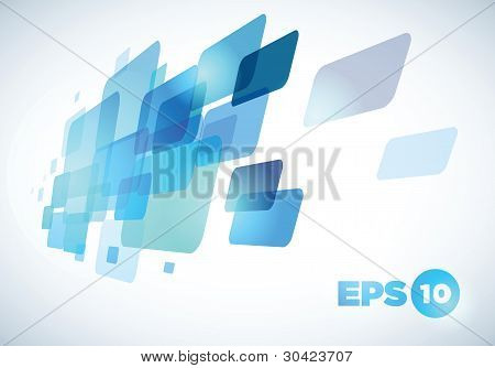 Blue abstract background design.