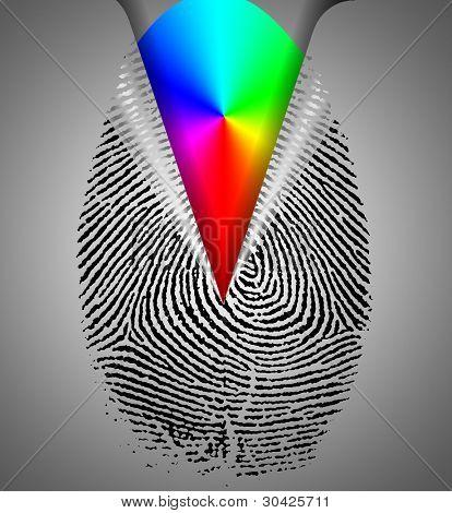 Rainbow Fingerprint